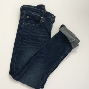 J Crew Jeans NWOT Dark Wash 484 Slim Straight 28